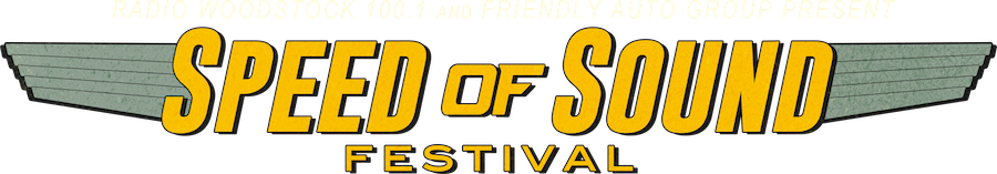 Speed of Sound Festival, sponsored by Friendly Auto Group